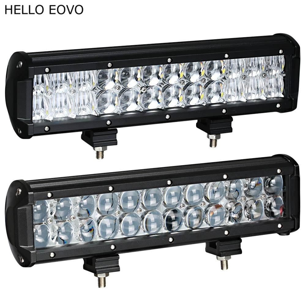 """Prix pour BONJOUR EOVO 4D 5D 12 """"pouces 120 W LED Light Bar pour Travail Indicateurs Conduite Offroad Bateau De Voiture Tracteur Camion 4x4 SUV ATV 12 V 24 v"""