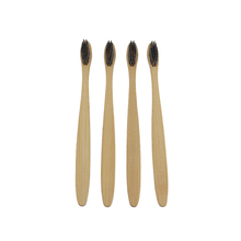 Eco-friendly Biodegradable BambooToothbrush Adult Toothbrushes with BPA Free Soft bamboo charcoal Bristles toothbrush