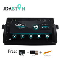 JDASTON 9 Inch Android 6.0 Car DVD Player GPS Navigation For BMW E46 M3 MG ZT Rover 75 Multimedia Radio Canbus SWC WIFI DVR Map