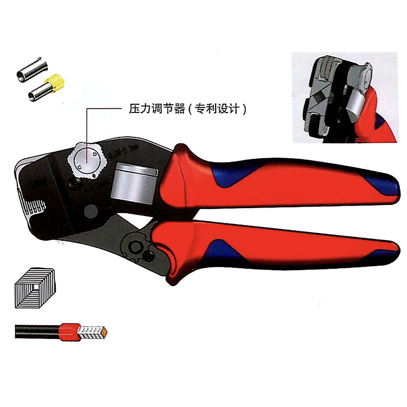 Suyep Mini-Type Self-Adjustable Crimping Plier HSC10 16-6A awg24 10 cable end sleeves crimping plier c 0816 self adjusting ratcheting ferrule crimper0 25 16mm2