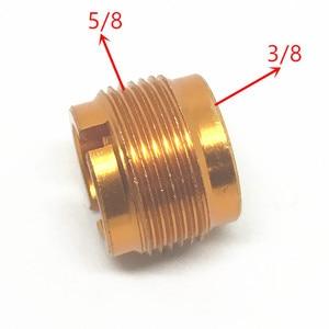 """Image 5 - 5/8 Inch Male naar 1/4 Inch Vrouwelijke Mic Schroef Adapter Fr Mic Micphone Stand 5/8 """" 27"""