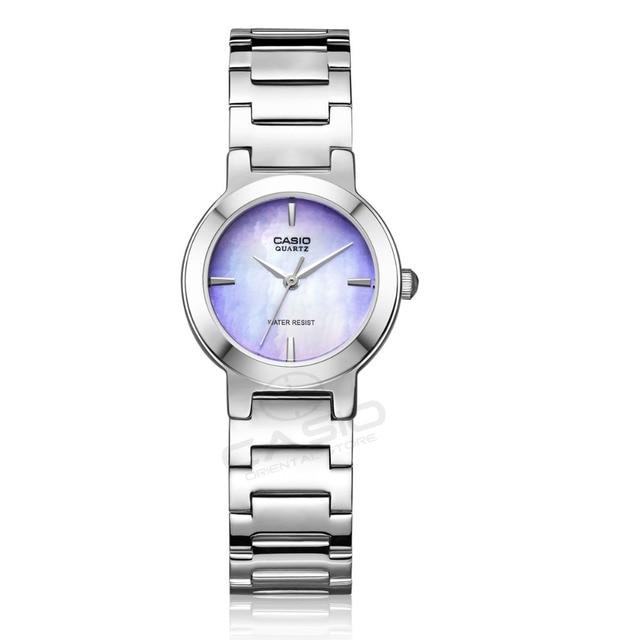 768a4705b95 RELÓGIO CASIO 2016 Summer Chic Mulheres Relojes Mujer de aço Senhoras  Relógio de Pulso Relógio Relógio