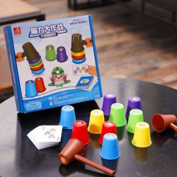 Children's Puzzle Toys Hit Hamsters Parent-Child Interactive Desktop Concentration Training Games
