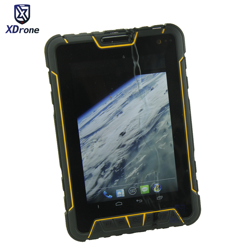 Original ST907 IP67 Waterproof Tablet Shockproof PC Phone Android 5.1 Fingerprint 3GB RAM Quad Core UHF RFID 4G LTE GNSS GPS NFC