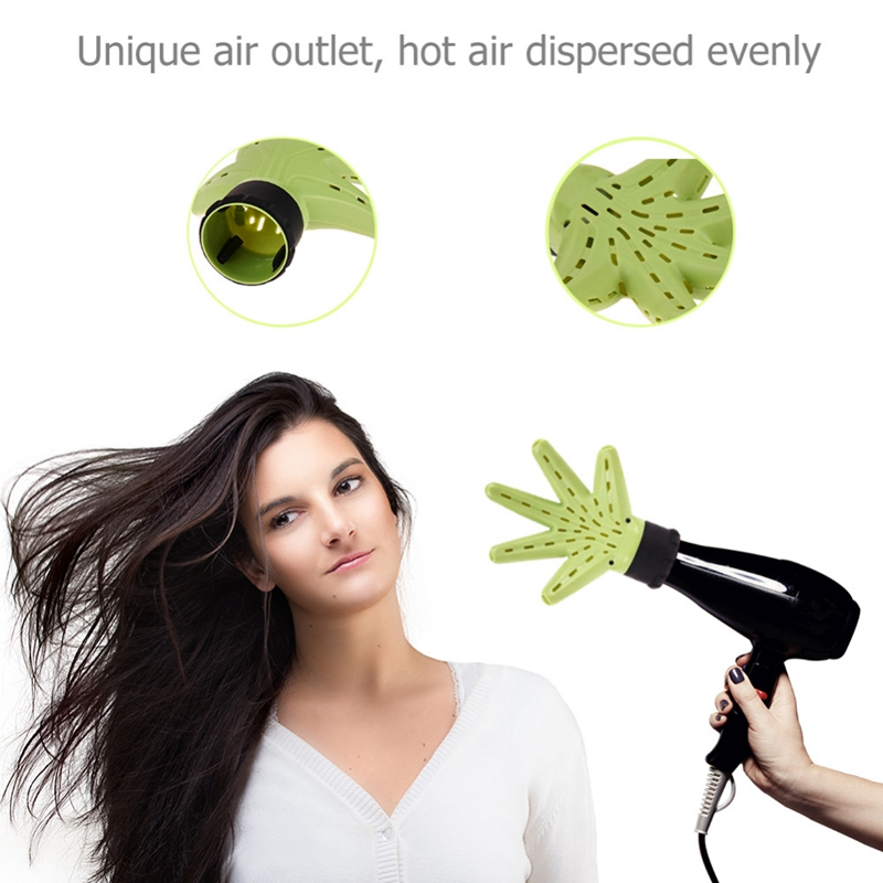Image 3 - Hair Dryer Diffuser Hand Type Wind Blower Salon Hair Curling Hair Tool Accessories-in Hair Dryers from Home Appliances