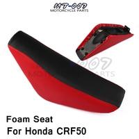 Free shipping for motorcycle tall Foam Seat For Honda CRF50 XR50 Pit Dirt Motor Trail Bike50cc 70cc 90cc 110cc 125cc 140cc 150cc