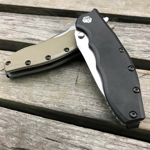 Image 5 - LDT 0562 Folding Knife ELMAX Blade G10 Handle Ball Bearing Tactical Survival Camping Knives Outdoor Packet Folding EDC Tool