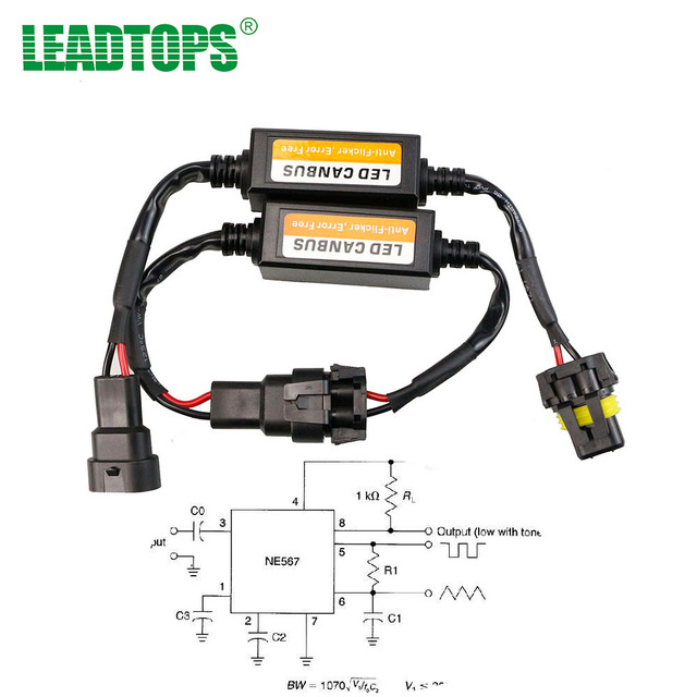 H4/H7/H8/H11/H13/HB3(9005)/HB4(9006) Canbus Wiring Harness Adapter on h13 hid wiring, h13 plug harness, hid kit headlight harness,