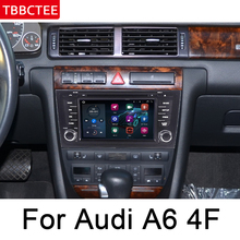 For Audi A6 S6 4B 1997~2004 MMI HD IPS DSP Stereo Android Car DVD GPS Navi Map multimedia player radio WiFi System HD Screen недорого