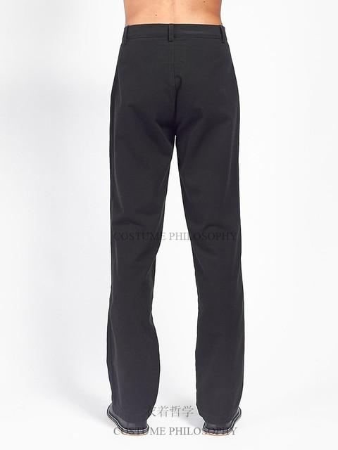 S-6XL!!Men's slacks self-made flared trousers designer style pleats. 4