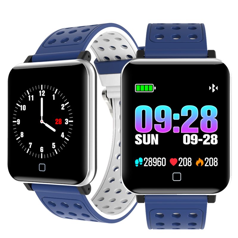 все цены на Powerful Function Sports Bluetooth Smart Watch Smartwatch Android Phone Call Reminder Bracelet New Men Men's Wrist Watches Clock