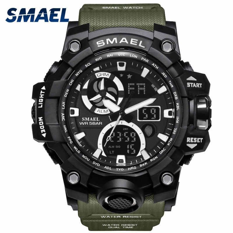 Армейские часы брендовые цифровые с подсветкой Мужские часы Мужские военные светодиодный наручные часы 1545C военные часы мужские водонепроницаемые