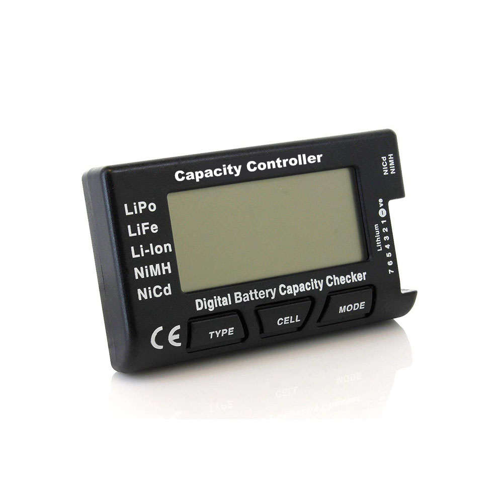 CellMeter 7 V2 with balance function Digital Battery Capacity Checker voltage meter cellmeter-7 for LiPo/LiFe/Li-ion/NiMH/Nicd Lahore