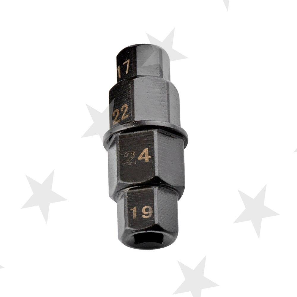 Gehorsam 17 19 22 24mm Achse Hex Allen Spindel Fahrer Werkzeug Für Motorrad Vorne Hinten Rad Attraktive Designs;