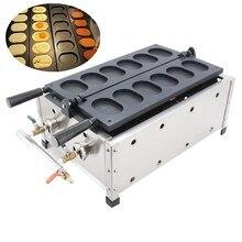 Коммерческого сжиженного газа антипригарным 6 шт. корейский яйцо хлеб gyeranppang gyeran BBANG Maker машина Бейкер Утюг