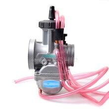 Universal PWK Motorcycle Carburetor For Keihin KTM Yamaha Honda Suzuki ATV 250CC - 350CC Carburador 38mm 2T 4T Carburateur