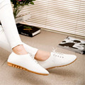 Free Shipping Women's shoes casual shoes flat comfortable pointed flats shoes white black shallow mouth loafers