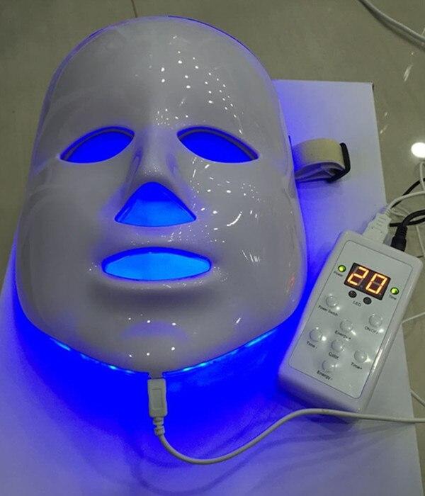 Güzellik ve Sağlık'ten Yüz Cilt Bakımı Araçları'de 7 renk foton PDT led cilt bakımı yüz maskesi mavi yeşil kırmızı ışık tedavisi güzellik cihazları ile toptan fiyat güzellik aksesuar'da  Grup 1
