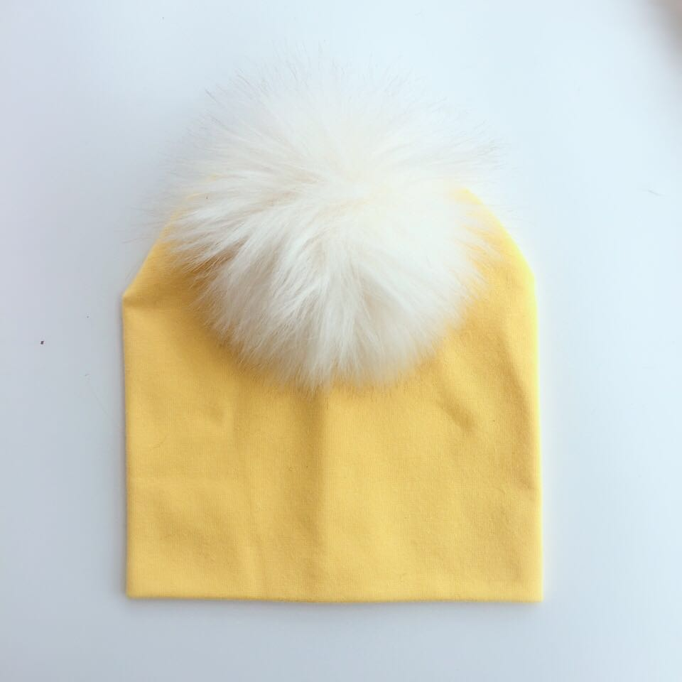 2018 spring winter Toddler infant children baby cotton colorful raccoon hat cap beanie for girls and boys aged pom pom hat props цены онлайн