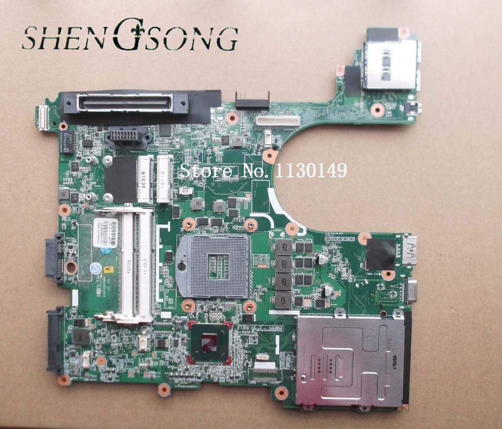 684322-001 Free Shipping laptop motherboardfor HP 8560P 6560B Notebook PC system board QM67 , 100% working free shipping notebook motherboard system board 641733 001 for hp probook 6360b series working perfect tested