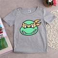 Camiseta de los muchachos Lindos de Verano de Dibujos Animados Manga Corta Embroma la camiseta Del Bebé Ropa de Los Niños