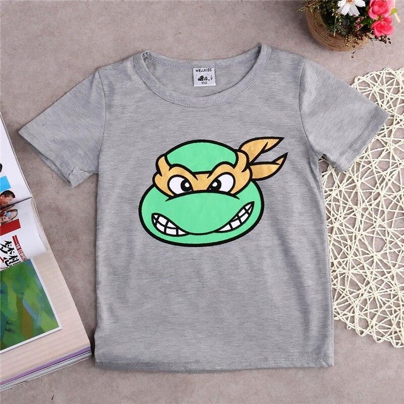 Jungen T-shirt Nette Sommer Kurzarm Cartoon Kinder T Shirt Baby Kinder Kleidung
