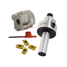 Straight Shank C3/4 C12 FMB22 C16 C20 +BAP400R 50 22 Face Milling CNC Cutter + 4pcs APMT1604 Inserts For Power Tool