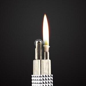 Image 5 - אמיתי אימקו קל מעדן Mini Slim מקורי מצית שמן אש מצית סיגר בנזין בנזין נחושת טהורה