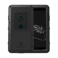 Luxury 360 degrees Full Body Protective Shockproof Armor Case For Sony Xperia XZ3 XZ2 Compact XA2 XA1 XZ1 XA1 X XZ XA Phone Case
