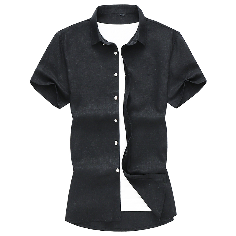 Camisa Short Business Solid