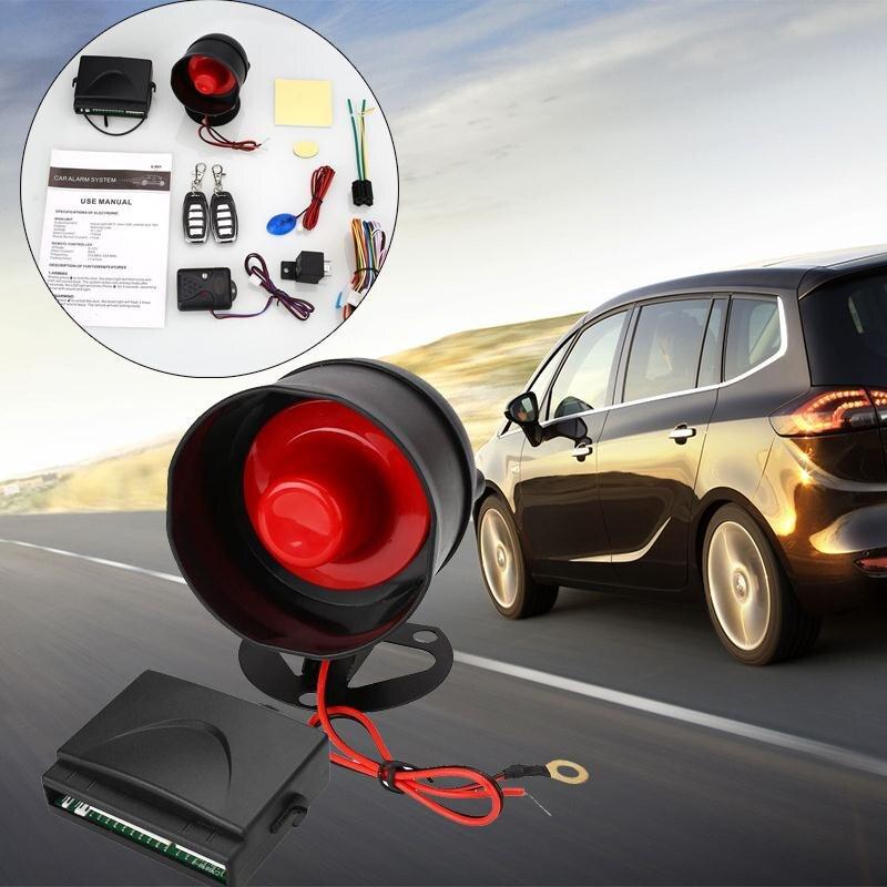 Système d'alarme de voiture Kit de système de verrouillage de verrouillage Central à télécommande et dispositif de verrouillage automatique de la porte centrale