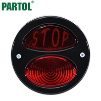 New Red LED Tail Light Adjustable License Plate Bracket For Motorcycle Rear Fender Motorcycle Integrated Brake