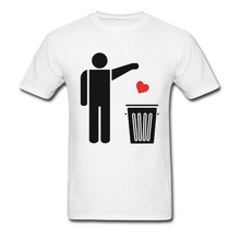 Hip Hop Mens Tshirt Design Tops & Tees for Men Naruto Lovers Day T-shirts Camisa T Shirt Throw Away Your Valentines Day Heart woodgrain heart pattern valentines day door stickers