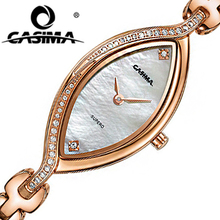 CASIMA Fashion Women's Bracelet Watches Luxury Ladies' Brand Casual Waterproof Stainless Steel Quartz Watch Woman's Wristwatch