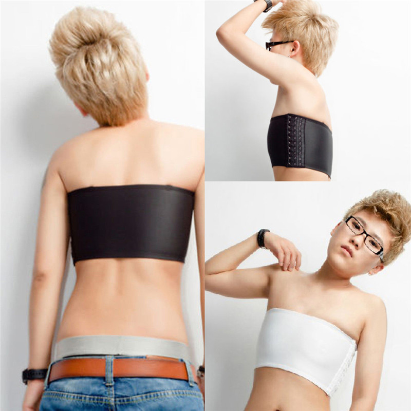 New Arrival Casual Strapless Chest Breast Binder Trans Tomboy Cosplay