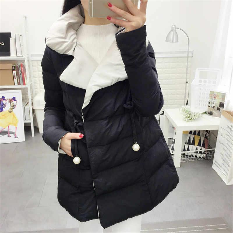 Manteau d'hiver femmes noir rose bleu Orange rouge grande taille doudoune 2019 nouvelle mode coréenne lâche chaleur vêtements Feminina CX950