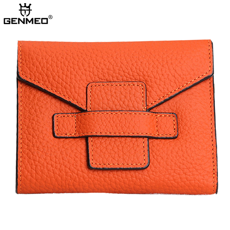 New Stylish Famous Brand Design Cow Leather Wallets Women Genuine Leather Wallet Soft Real Leather Purse Card Holder Clutch Bag new arrival genuine leather wallets men cow leather clutch bag real leather wallet credit card holder male purse bolsa handbag