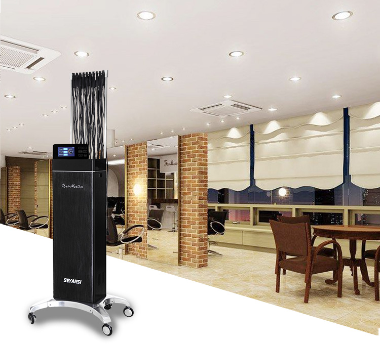 2018 New arrival remote controlled hair perm machine, Advanced Version, Black color