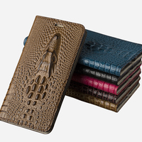 Genuine Leather Case For Samsung C7 2017 Flip Case Cover For Samsung J5 2017 Luxury Dragon