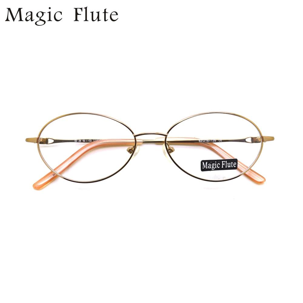 2017 nueva llegada de forma redonda marcos ópticos gafas marco ...
