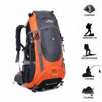 70L Tactical Backpack Waterproof Travel Hiking Backpack Outdoor Camping Rucksack Trekking Climbing Sports Bag Equipment For Men