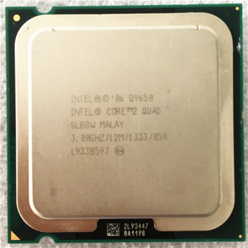 Intel core2 quad q9650/Quad core 3,0 ГГц процессор (3,0 ГГц/12 МБ Кэш/ФСБ 1333) имеют Q9550 LGA775 Процессор распродажа