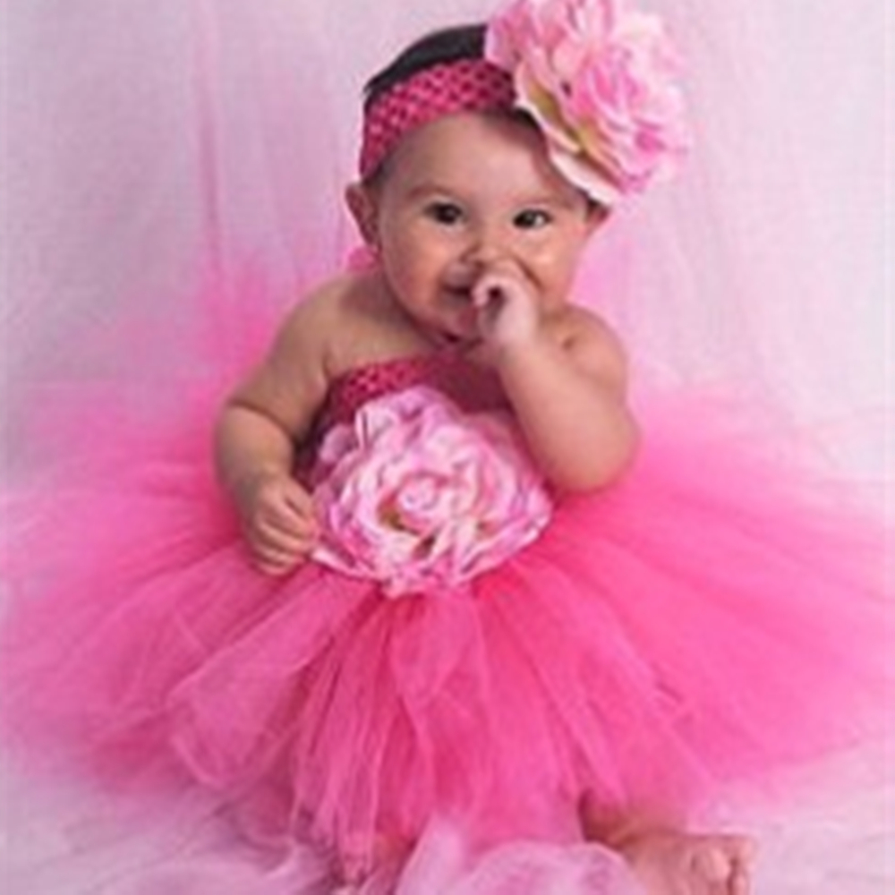 aliexpresscom buy white girls tutu dresses for baptism birthday outfit halloween costume baby girl with flower headband pink tutu baby dresses from - Halloween Costume Pink Dress