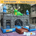 Hot Popular Inflatable Disnosaur Bouncer Jumping Trampoline For Commercial Use