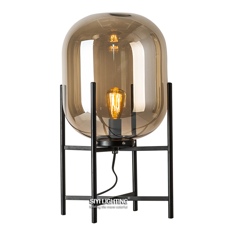 Gestalten x pulpo oda table lamp s m size warm home - What size table lamp for living room ...