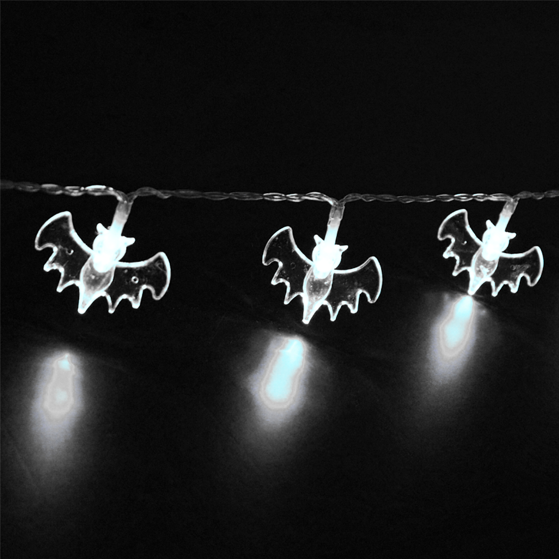 Gift 10 LED 1.5M Halloween Decor Bats LED String Lights Lanterns Lamp for DIY Home Bar Outdoor Party Supplies