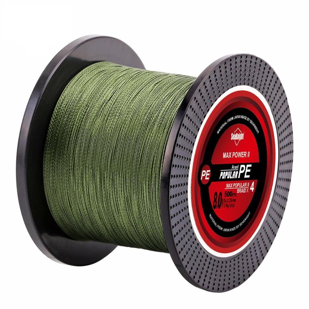 500m tri-poseidon series 4-strand Super strong Japan multifilament PE twisted fishing line 8 10 20 30 40 60LB