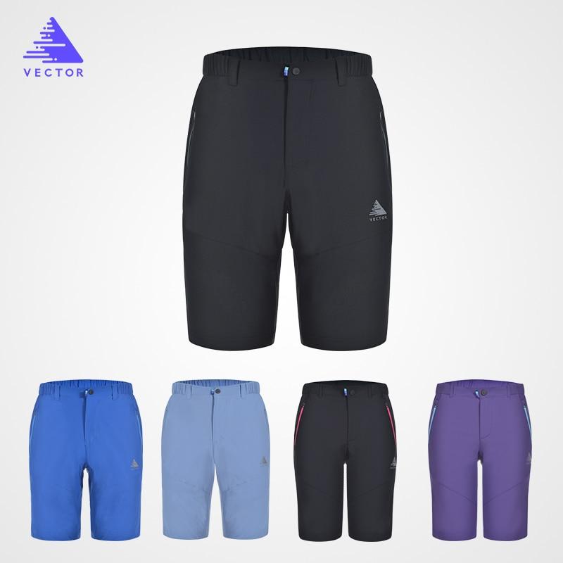Pantallona të shkurtra vrapimi të jashtëm VEKTOR Shkurtra të shpejta sportive të ndezura për frymëmarrje për trajnime për shëtitje