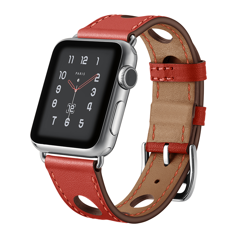 sport leather strap for apple watch band 38mm 42mm iwatch series 4 3 2 1 watchband replacement wristband women belt accessories leather for apple watch band 38mm 42mm butterfly buckle strap iwatch series 4 3 2 1 watchband replacement accessories wrist belt