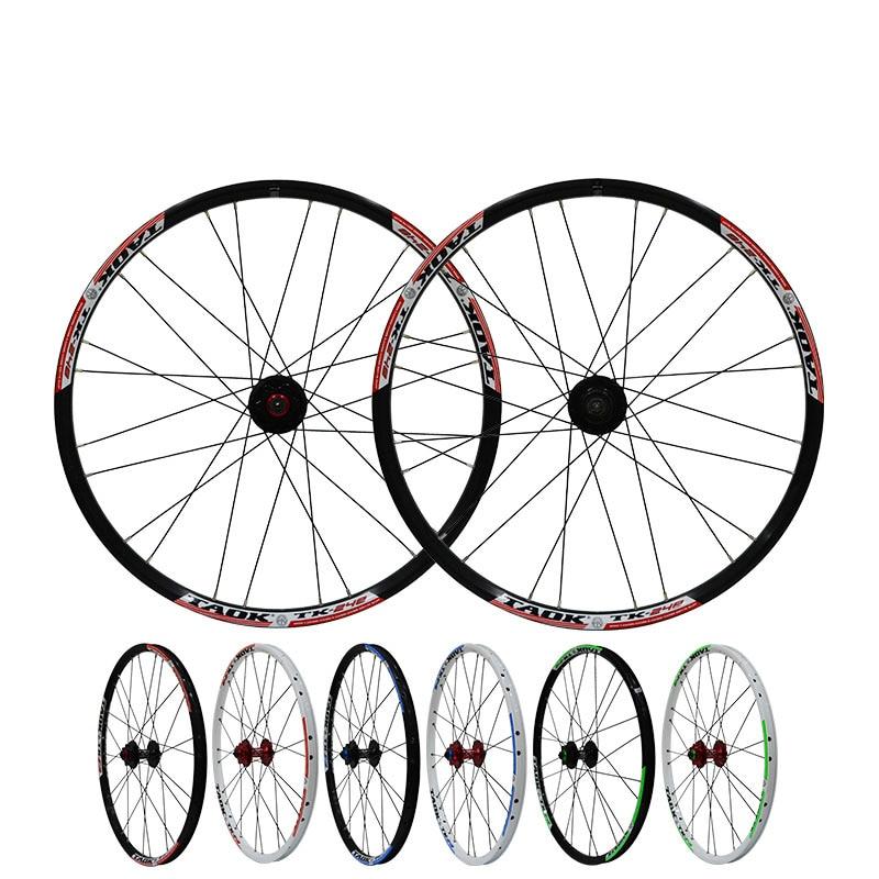 24 ''pouces vtt vtt vélos de route 24 trous moyeux disque frein roue roues jante